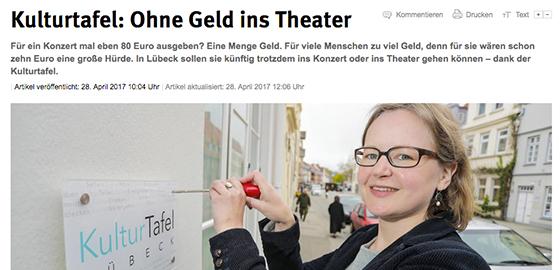 Lübecker Nachrichten – 28.04.2017
