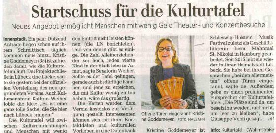 Lübecker Nachrichten – 03.05.2017