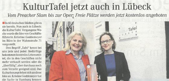 Lübecker Stadtzeitung – 09.05.2017