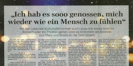 Lübecker Nachrichten – 15.12.2017