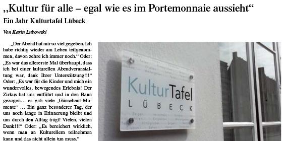 Lübecksche Blätter – 19.05.2018