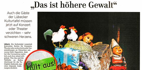 Lübecker Nachrichten – 21.03.2020