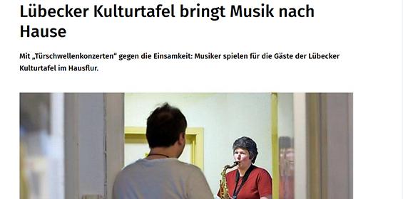 Lübecker Nachrichten – 19./20.04.2020