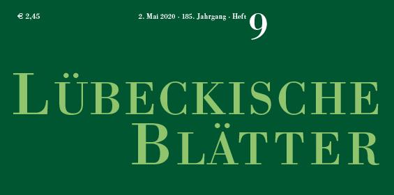 Lübeckische Blätter – 02.05.2020