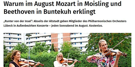 Lübecker Nachrichten – 29.07.2020