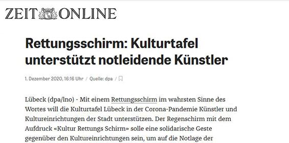 Zeit online – 01.12.2020