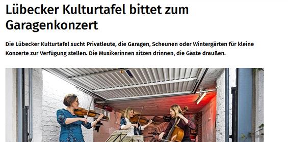 Lübecker Nachrichten – 16.05.2021